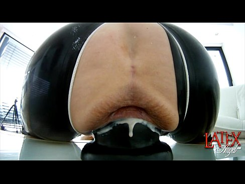 Extreme pussy dilation with huge cone-dildo